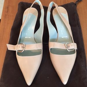 Sigerson Morrison sling back shoes never worn